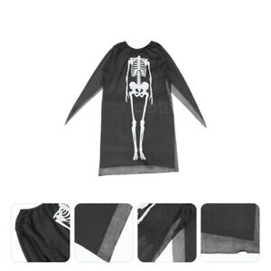 1Pc Skeleton Cosplay Outfit Costume Skeleton Costume for Party