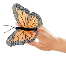 2 Monarch Butterfly Finger Puppets, MPN 2156, Boys & Girls, 3 & Up