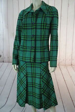 PIERRE DELANEAU Skirt Blazer Suit 6 France 2PC Wool Poly Gabardine Blend VINTAGE