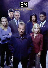 TWENTY FOUR 24 TELEVISION SHOW SEASONS 1 & 2 2003 COMIC IMAGES PROMO CARD P4