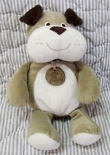 Carters My 1st Puppy tag brown/tan/white puppy dog plush stuffed toy first