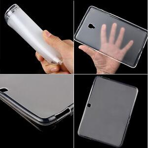Thin Clear Gel Skin Case Matte TPU Cover For Samsung Galaxy Tab 3/4/A/E/S/S2/S3