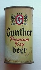 GUNTHER BEER CAN (1940s-50s) GUNTHER BREWING COMPANY, BALTIMORE
