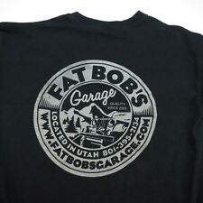 FAT BOB'S GARAGE UTAH OFF ROAD JEEP LIFT KIT SUSPENSIONS TEE T SHIRT Sz Mens S
