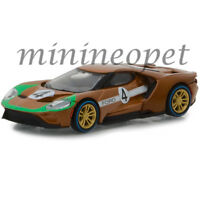 GREENLIGHT 13220 A 2017 FORD GT #4 TRIBUTE TO 1966 FORD GT40 MK II 1/64 BROWN