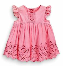 ВNWT NEXT Tunic Tops • Pink/White Embroidered Blouse • 100% Cotton • 3-4 Years