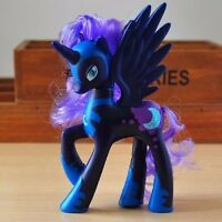 14CM Nightmare Moon Princess Luna Little Horse Toy Action Figure Doll Kids Gift