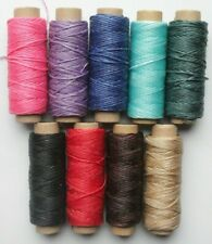 5m Waxed .8mm Thread Wax Cord Cotton Craft Sewing Jewelry Making String Bracelet