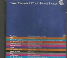 RARE TOWER RECORDS SAMPLER  SOUNDS SWATCH 1995 THIN LIZZY ABC DEXYS JOY DIVISION