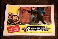 AMBUSH AT TOMAHAWK GAP 1953 LOBBY CARD #6  NATIVE AMERICAN INDIAN WESTERN