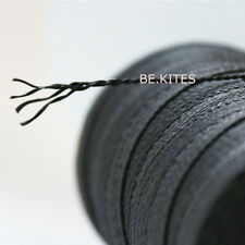 Heavy Duty 1000ft / 304M 250lbs Black Braid Kevlar Line for Kite Flying Snares