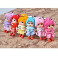 6X Animals Key Chain Cute Fashion Kids Plush Dolls Keychain Soft Stuffed Toys