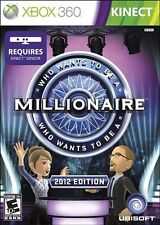 Who Wants to Be a Millionaire: 2012 Edition [Xbox 360, Kinect Required TV Game]