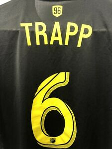 Wil Trapp Adidas MLS 2018 Authentic Climacool Black Away Jersey (M)