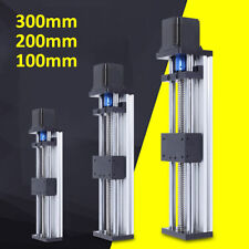100200300mm Cnc Linear Guide Rail Slide Stage Actuator Nema 23 Stepper Motor