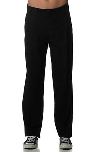 Kit and Ace Mens Black Ross Pants Trousers 'Relaxed' Fit Sizes 34 36 $240 NWT