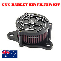 CNC Air Cleaner Intake Filter Harley Sportster iron XL 883/1200/48 custom POLICE