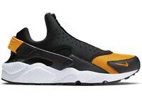 Nike Air Huarache Run EXT Zip Black/Orange Peel-White (CI0009 001)