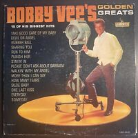 Vintage Vinyl 33rpm LP Record Album: Bobby Vee, Golden Greats