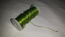 Green metal thread