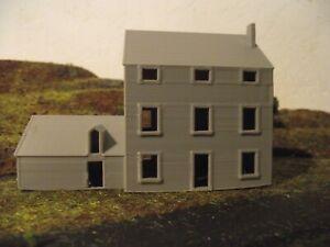 Maison, Beire-le-Châtel - échelle N