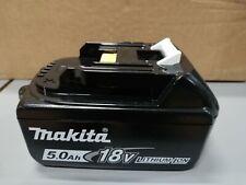 BATTERIA ORIGINALE MAKITA BL1850B 18V 5,0Ah LI-ION con LED CARICA