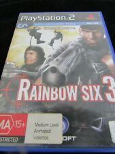 Play Station 2 Rainbow Six 3 MA 15+ Pal 2004