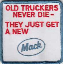 MACK TRUCK EMBROIDERED PATCH
