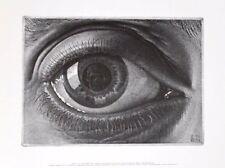 MC Escher Auge Poster Kunstdruck Bild 28x35,5cm
