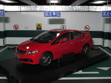 Honda civic MK9 FB 1/18 red model car