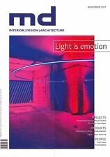 md Magazin 11.2017 interior | design | architecture: Light is emot ++ wie neu ++