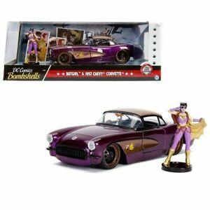 1:24 Batgirl w/ 1957 Chevrolet Corvette -- Hollywood Bombshells JADA