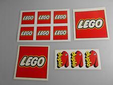 Lego® 4x alte Sticker/Aufkleber