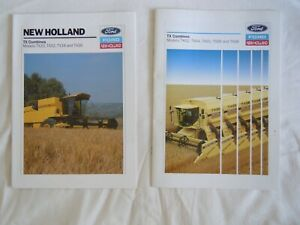 @New Holland TX Combines Brochures x 2-Models TX 30,32,34,36 & 62,64,65,66,68@