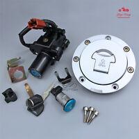 Ignition Switch Lock Fuel Gas Cap Key Set Fit For Honda CBR600 07-16 CBR1000 08