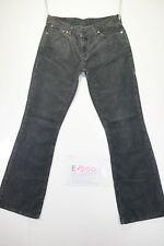 Levis 529 bootcut (Cod. E1550) Tg45 W31 L34  jeans usato vintage velluto