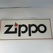 Zippo Windproof  Lighter - Paperboard Sign 24x10