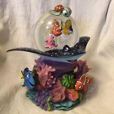 Disney Pixar FINDING NEMO CORAL REEF ADVENTURE Music Box Figurines SnowGlobes