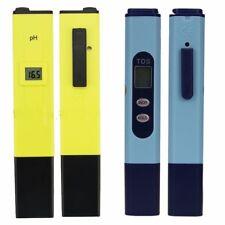 Digital pH Meter + TDS Tester Pocket Monitor Aquarium Hydroponic Water 0-999 PPM