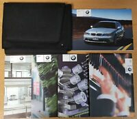 BMW 3 SERIES E46 COUPE HANDBOOK OWNERS MANUAL WALLET 2000-2006 PACK L-554