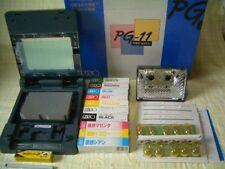 New! Print Gocco PG-11 w/ 5 Master 10 Lamp 10 ink B6 Screeen Printer kit
