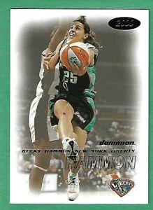 2000 WNBA Fleer Dominion Becky Hammon Rookie Card # 93