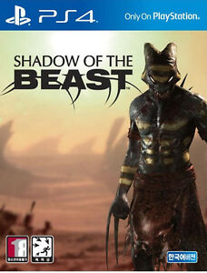 Shadow Of The Beast - PS4 Korean Edition / Package