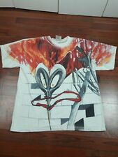 Vintage Pink Floyd The Wall All Over Print T-Shirt winterland