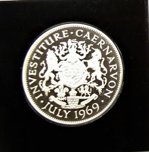 Price of Wales Investiture Silver Medal 1st of July in Case with COA