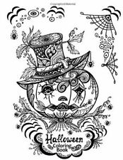 Halloween Coloring Book Adult Coloring Book by Color 2016 Paperback