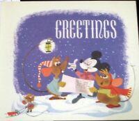 Cinderella Mary Blair John Hench WDP Christmas Card 1949 2005 Walt Disney Studio