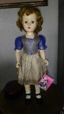 """Vintage Sweet Sue by American Character 21"""" preteen walker in original dress."""