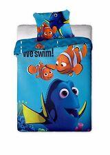 DISNEY FINDING DORY E Nemo Set Copripiumino Singolo 100% cotone da besttrend ®