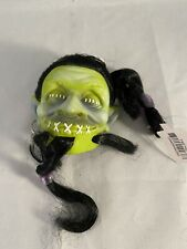 Dept. 56 Halloween Severed Heads Head Shrunken Decoration Led Lights Green New